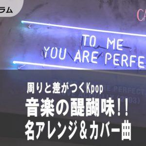 [Kpop]個性派必見!音楽の醍醐味 名アレンジ&カバー曲